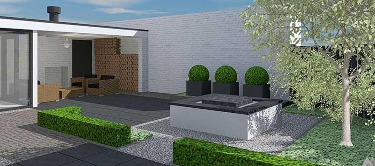 Tuinaanleg hulp bij het aanleggen van een echte droomtuin for 3d tuin ontwerpen
